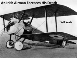 an irish airman foresees his death analysis