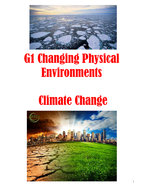 WJEC AS Geography - G1 Physical (Climate Change) Revision Guide