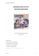 French Film Activity Booklet: Bienvenue Chez les Ch'Tis