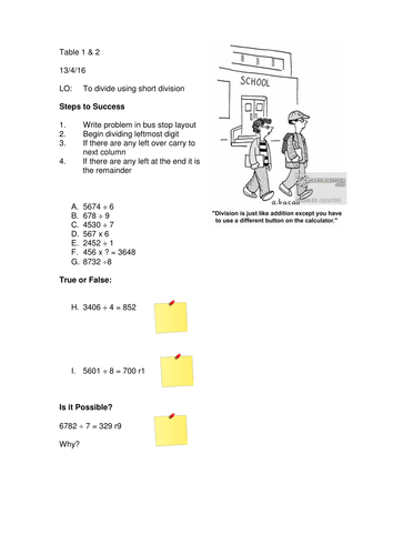 year 5 division drill worksheet by someteacher teaching resources tes. Black Bedroom Furniture Sets. Home Design Ideas