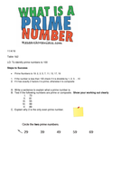 Year 5 prime numbers drill sheet by someteacher teaching resources year 5 prime numbers drill sheet ibookread Read Online