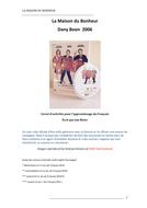 'La Maison du Bonheur '  French Film Activity Booklet