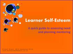 Learner Self Esteem Assessment And Action By Humansnotrobots