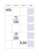 Percentage-Decimal-Fraction-match.docx