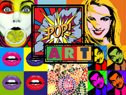 pop art activities powerpoint and worksheet by kcrompton87 teaching resources tes. Black Bedroom Furniture Sets. Home Design Ideas