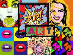 Pop art activities powerpoint and worksheet by kcrompton87 pop art powerpointpptx toneelgroepblik Images