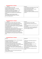 French Language Lesson Lifesaver: sample  Linked Translation topic on Household Chores