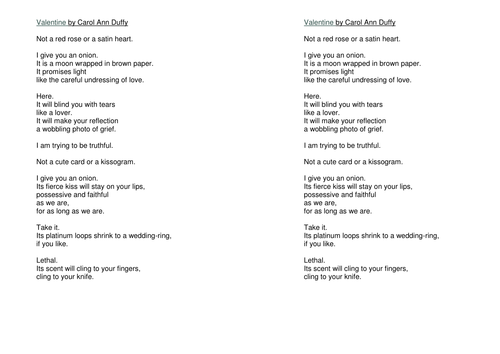Carol Ann Duffy Poetry - Where can I find it?