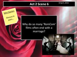 Romeo and Juliet Act 2 Scene 6 (AQA New Spec 2017)