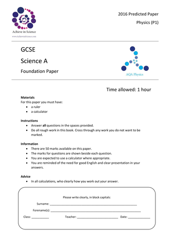 Chemistry Teaching Resources - CfE New Higher Chemistry