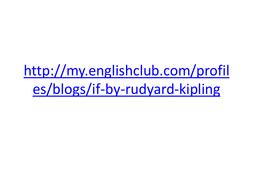 If-Rudyard-Kipling.pptx