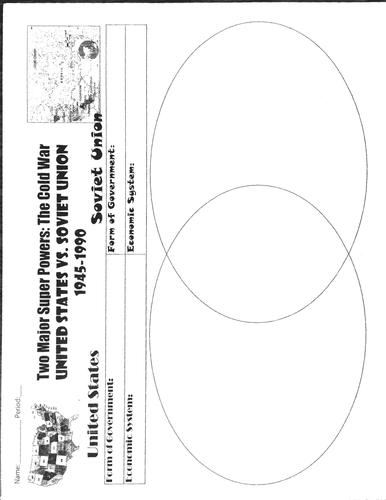 Cold War Worksheets BUNDLE (20 included!)- World or U.S