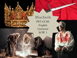 KS3 or KS4 Shakespeare's Macbeth based on the NEW GCSE English Literature exam