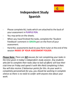 Spanish Grammar Revision / Cover