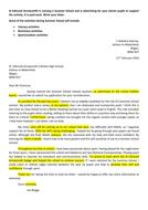 GCSE Letter Writing (Formal & Informal)