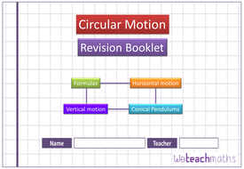Circular Motion revision booklet _ M2