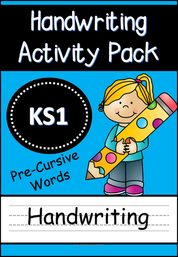 handwriting activity pack pre cursive words for eyfs ks1 by uk teaching resources tes. Black Bedroom Furniture Sets. Home Design Ideas