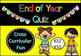 Quiz for End of Year Quiz Fun!  (KS1/KS2)
