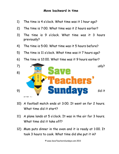 subtracting time ks1 worksheets lesson plans powerpoint by uk teaching resources tes. Black Bedroom Furniture Sets. Home Design Ideas