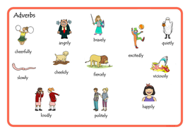 Adverbs - ks1 by Missgmz | Teaching Resources