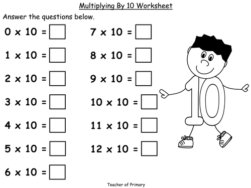 Multiplication Tables Pack - 11 PowerPoint presentations and ...