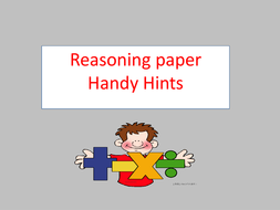 KS2 Reasoning Paper Handy Hints Part 2