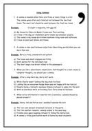 Commas Worksheet - Literacy