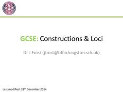 GCSE Loci & Constructions
