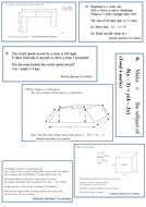 Revision clock questions for GCSE Higher (Edexcel)