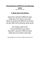 Characteristics-of-Effective-Learning-Song-Lyrics--5.-Show-Your-True-Colours.pdf