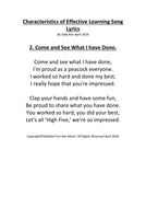 Characteristics-of-Effective-Learning-Song-Lyrics--2.-Come-and-See-What-I-have-Done!.pdf