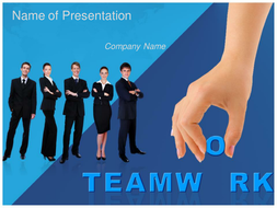 Teamwork ppt template by templatesvision teaching resources tes teamwork powerpoint templates 21ppt toneelgroepblik Gallery