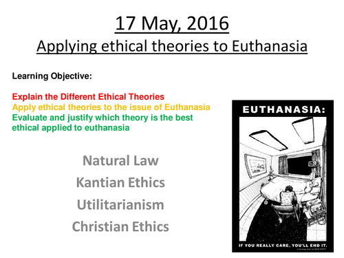 utilitarianism and euthanasia 2 essay Research paper on utilitarianism and bioethics research paper on utilitarianism and bioethics the topics of abortion, infanticide, euthanasia.