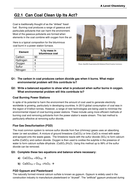 AQA GCE Chemistry Group 2 - alkaline earth metals - Resource Pack