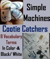 Simple Machines Cootie Catchers
