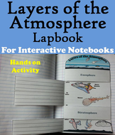 Layers of the Atmosphere Lapbook