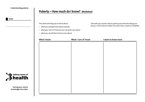 Printables Puberty Worksheets puberty worksheets versaldobip year 7 ks3 by shannonle123 teaching resources tes