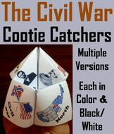 Civil War Cootie Catchers