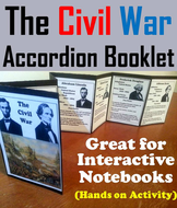 Civil War Accordion Booklet
