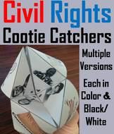 Civil Rights Cootie Catchers