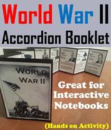 World War II Accordion Booklet