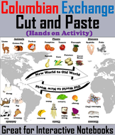 Columbian Exchange Cut and Paste