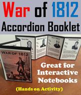 War of 1812 Accordion Booklet