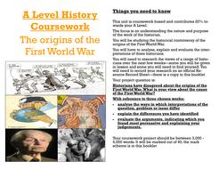 Edexcel history a2 coursework help