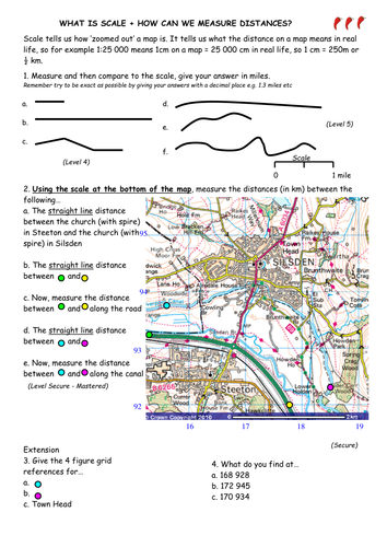 Map Skills Resources By Victoria1987 Teaching Resources Tes