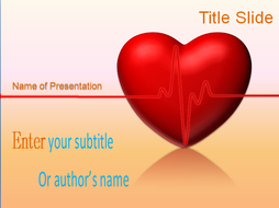 Animated heart ppt template by templatesvision teaching resources animated heart ppt template slide 1g toneelgroepblik Choice Image