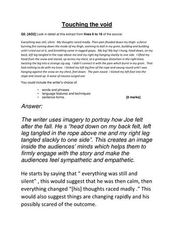 Touching essays