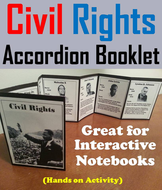 Civil Rights Accordion Booklet