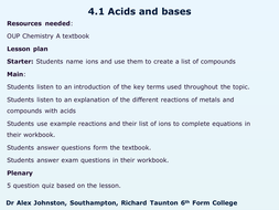 OCR A Chemistry - Complete resources for AS/1st year of A-level