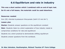 6.6-Equilibrium-and-rate-in-industry.pptx